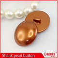 dyeing shiny pearl color big size shank coats button