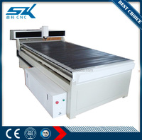 cnc stainless steel woodcutting engraving machine on acrylic PVC headstone metal and non-metal in jinan SKA-1224