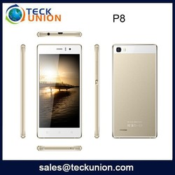 P8 5.0inch dual cameras android mobile phone latest G+F screen cell phone