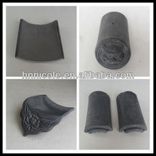 plastic traditional Chinese terracotta clay roof tile for sale