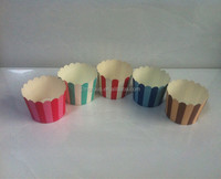 Colorful Paper Cake Cup Liners Baking Cup/ Muffin Kitchen tool Cupcake Cases