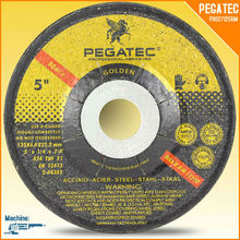 5'' PEGATEC Grinding Discs for Metal with MPA EN12413