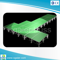 podium stage large concert stage sale hydraulic stage