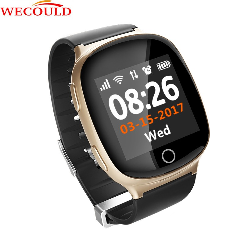 WECOULD Brand New Original GPS Sports Running Smart Watch With Heart Rate Monitor D100