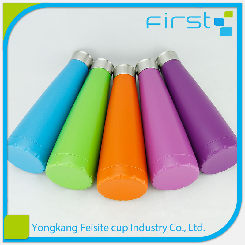 Fine craftsmanship 450ml vacuum gym water bottle sports