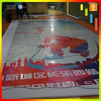 Advertising Banner With Uv Printing