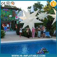 2015 hot selling wedding party favors inflatable star for party decoration