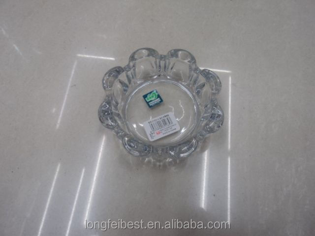 2016 engraved crystal apple shaped glass ashtray