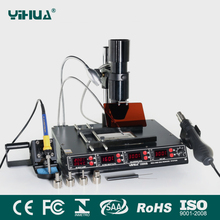 BGA rework station YIHUA1000B , IR Welder Infrared Heating Soldering Station BGA SMD Machine