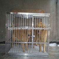 Stainless steel square tube dog cage ( factory price )