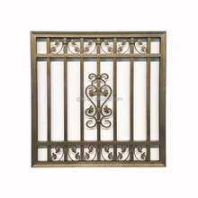 New Modern Iron Decorative Fixed Burglar Security Window Grill Design