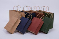 Large Papel kraft Paper Shopping Bag