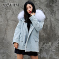 CX-G-P-18B Eco-Friendly Fashion Raccoon Fur Collar Winter Fox Fur Parka