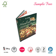 New Designed Hardcover Colourful Cooking Book
