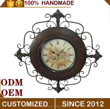 Hot selling exquisite and retro oversized wall clocks