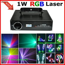 (L1456RGB)1W RGB Animation DMX Stage Laser Light/1 Watt Laser