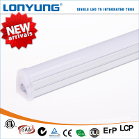 7w 12w 15w 20w 25w led tube t5 integral tube light light fixture with electrical outlet