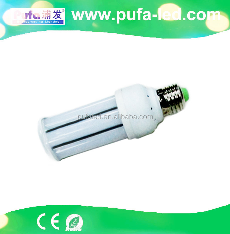 pufa uv lamp smd 3014 e27 corn led light bulb 15w warm white