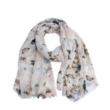 Best seller custom design personalization classical printed voile and cheap scarves