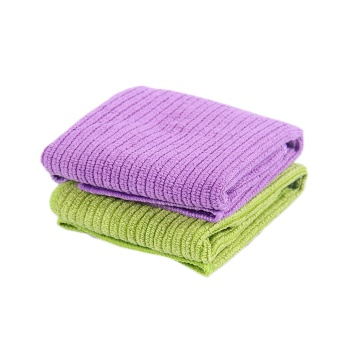 Hot sale strip microfibre cow kitchen towels and tea towel