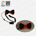 party decoration flashing light up bow tie/ customized light up bow tie hot sale for decoration
