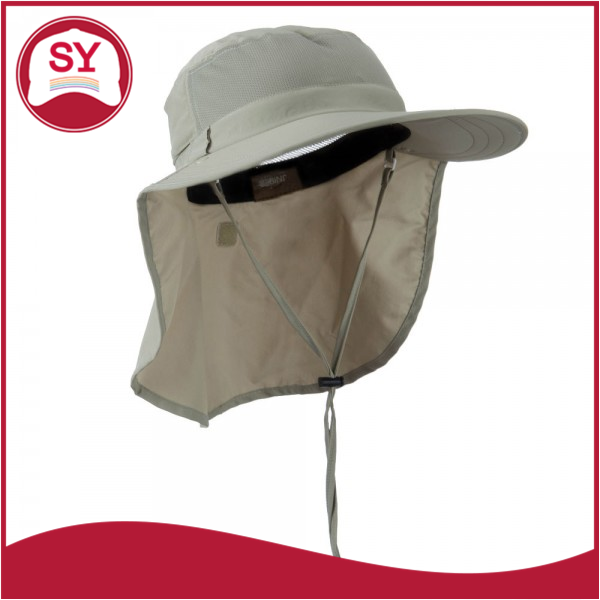 UV 50+ sun protection Talson Large Bill Detachable Flap Hat