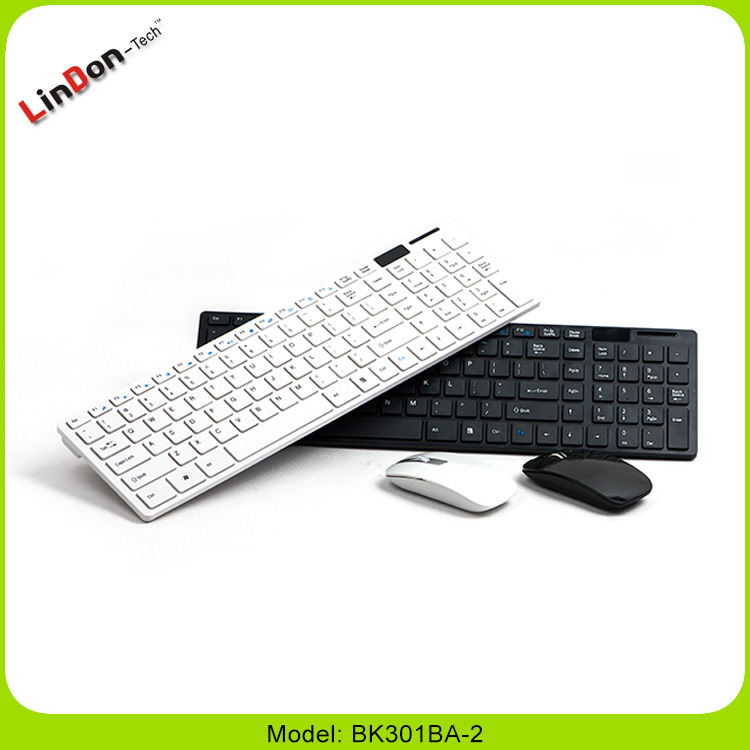 2.4G Wireless Keyboard Mouse and Keyboard Set BK301BA-2