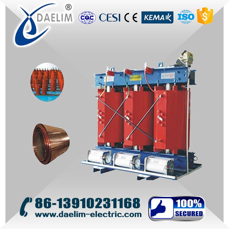 High Quality S(C)B Type 50KVA Cast-resin Dry-type 3 Phase Transformer 24KV