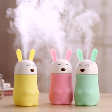 Hot Elegant Style Mini USB Portable Air Cool Mist Ultrasonic Purifier Humidifier Colorful lights