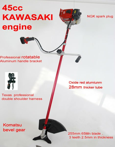 Kawasaki engine brush cutter