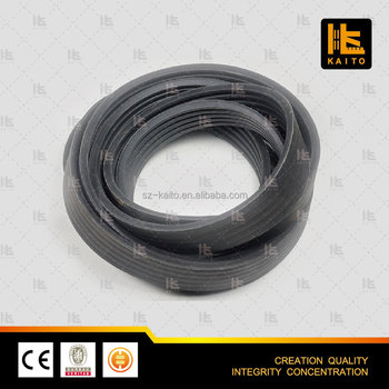 Motor Smooth Rubber Drive Belt for Wirtgen milling planer drum P/N 113850