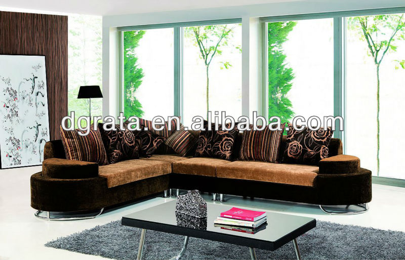 2013 niceset product expensive fabric sofa set is made fabric and solid wood frame for the living house furniture