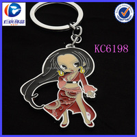 Fashion trend porn toys photos keyring holder with sexy girl
