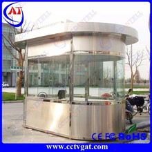 Ascendant luxury mobile prefabricated sentry box guard house for sale mobile sentry box