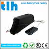 48 volt 10.4ah ebike battery for frame bike with 2A charger