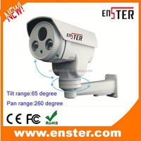 IP66 Waterproof Bullet ptz ip camera Camera, adjust for Pan/Tilt/Zoom,10x optical zoom ptz ip camera