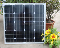 solar panel mono 50W high technology led panel solar cell home system solar pump 12V