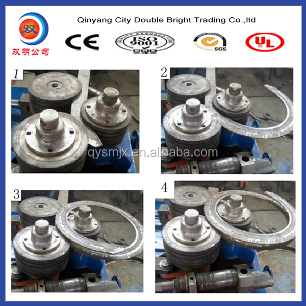 W24-45 round tube flanging machine from Qinyang supplier