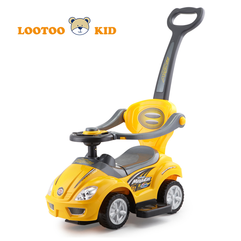 Alibaba trade assurance hot sale cheap price plastic slide toy ride on push car for kids