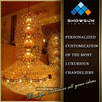 2016 Zhong Shan lighting factory egyptian crystal decoration lighting