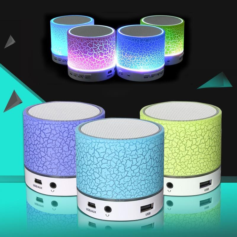 Rechargeable Wireless Bluetooth Speaker for Phones,Mini LED Speaker with FM MOQ 10 pcs