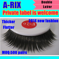 2014 new fashion popular superior false eyelash