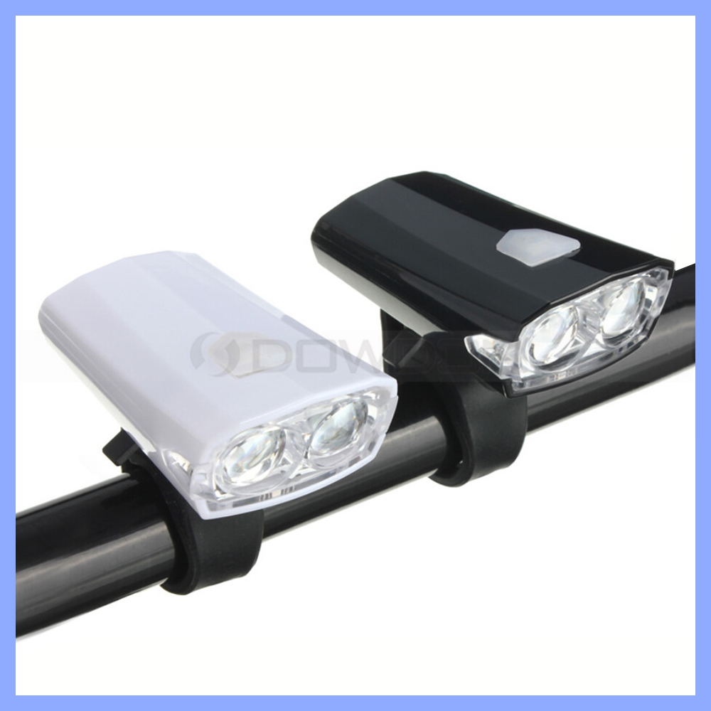 100 Lumens USB Rechargeable Front Bike Bicycle Light For Night Cycling