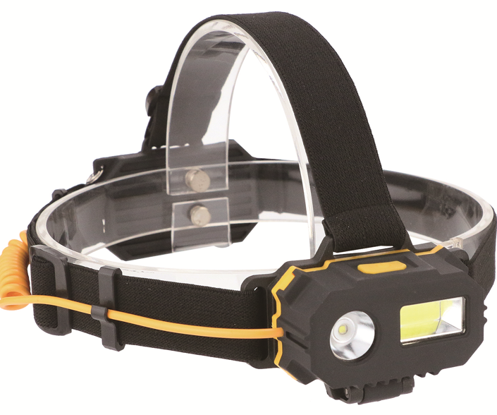 Hot selling Best price LED Light COB Headlamp ABS Red COB Head  Flashlight