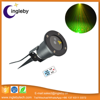 High quality outdoor stage light mini laser star holographic laser star projector