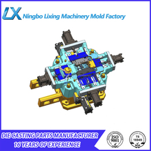 customized made die casting aluminum gravity mold
