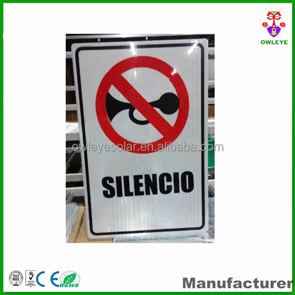 Taffic safety reflective road sign boards
