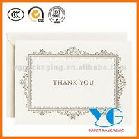 Decorative Frame Letterpress Thank You Cards