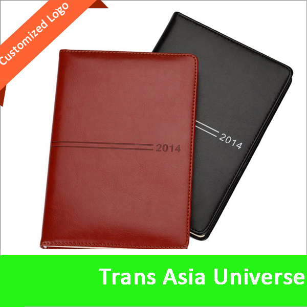Hot Selling Custom Logo 2015 eco friendly a5 padfolio with notepad