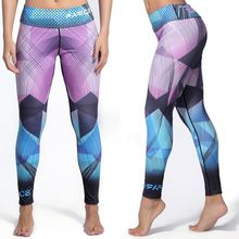 Sexy spandex/ polyester yoga clothing zumba pants 92 polyester 8 spandex leggings